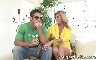 CougarsInHeat - Ginger Lynn Slutty Cougar Love Scene