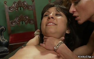 Blindfolded slut is restore b persuade banged