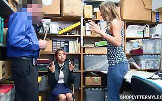 Asian stepdaughter Kimberly Chi lets her stepmom pay for her sins