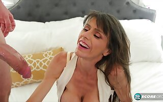 skinny MILF Beth Sinkati crazy sex video