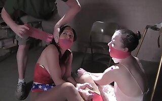 Busty mature ladies bondage fetish