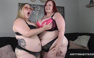 Asstyn Martyn, Bunny De La Cruz - OBESE Lesbian PAWGs