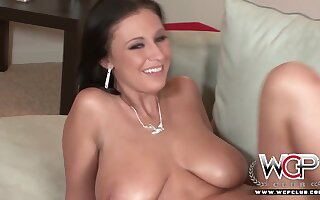 Bella Blaze - Jizz Standing b continuously My Big Jugs