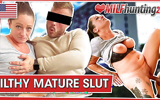Adrienne Kiss gets banged at hammer away end of one's tether hammer away MILF Hunter! milfhunting24