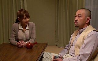 Mxgs-398 Akiho Yoshizawa Bride Was Dedicated To Hammer away Adoptive Father A