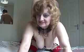 Angela Be required of Hereford British Real Old Slut Porn Clip