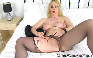 Lucy Gresty In Uk Mature Lucy Will Be Your Ultimate Fuck Floozy In Tights