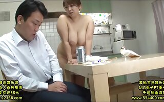 Lustful Nipponese mommy hardcore sex pic