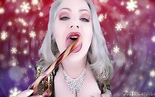 G zenova - Mindless candy cane joi - toy deepthroat