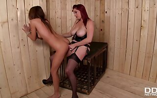 Rough lesbian femdom in exclusive scenes of porn