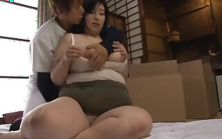 Japanese BBW Mama Want Young Cock Part 1