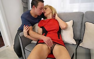 AgedLovE Grandma Seduced and Fucked by Guy