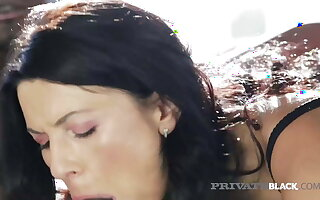 PrivateBlack - Dark Dicked Milf Ania Kinski Fucked To Facial