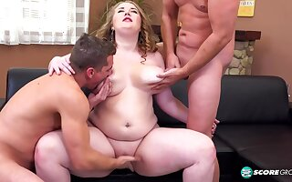 BBW Tessa Orlov A Three-Way Assfucking Party