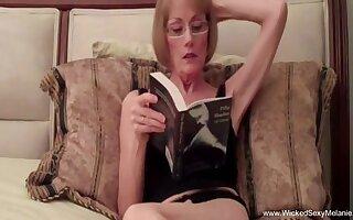 Horny dilettante granny Wicked Sexy Melanie oh so fucked