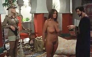 Retro film about oil Sheiks