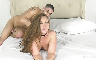 Amateur fucking on transmitted to lie alongside with adorable mature Maddy O'Reilly