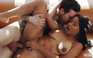 ebony beauty Jenna Foxxx hard sex clip