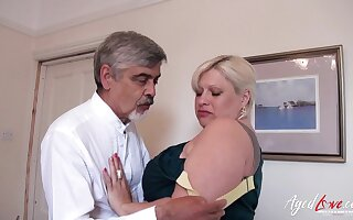 AgedLovE Mature With Big Tits Got Guestimated Fuck