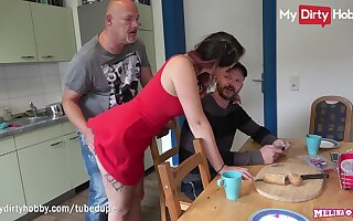 MyDdirtyHobby - Cheating redhead teen fucks older guy in edict be incumbent on her man